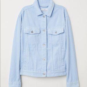 Light blue corduroy H&M jacket